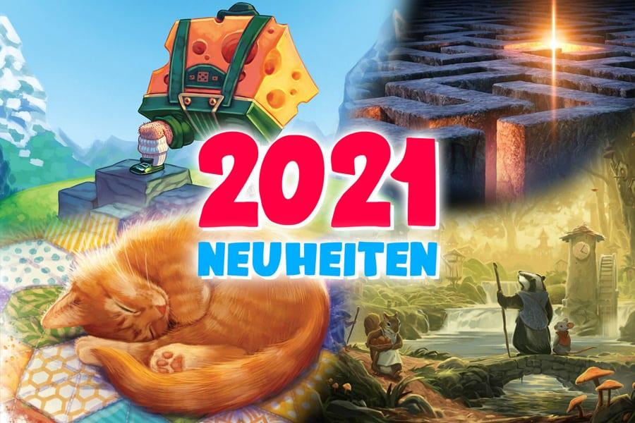 Brettspiel Neuheiten 2021