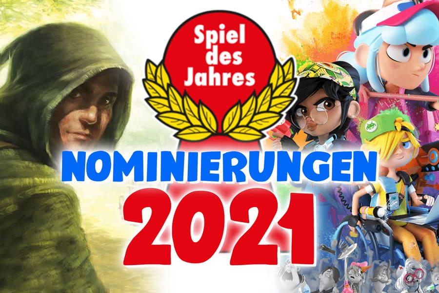 Nominierungsliste zum Spiel des Jahres 2021